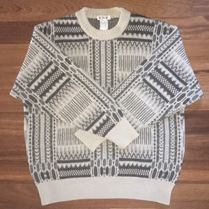 Vintage Teodori Merino Wool Crew Neck Sweater